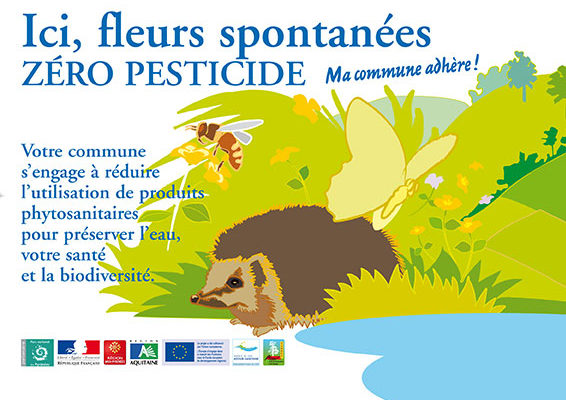 Affiche Zéro Pesticides ©
