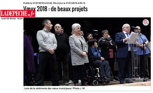 Bazet : de beaux projets pour 2018 !