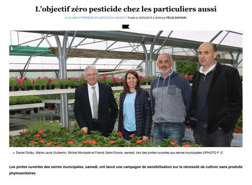 L'objectif zéro pesticide chez les particuliers aussi