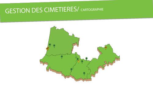 Cartographie de nos actions en gestion de cimetière