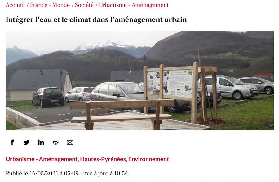 Intégrer l eau et le climat dans l aménagement urbain