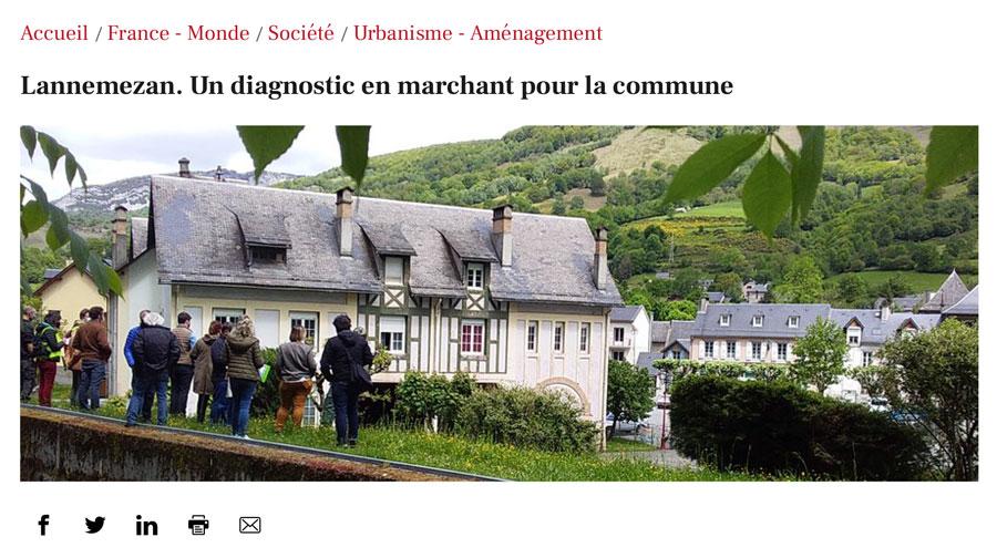 Sarrancolin - un diagnostic en marchant pour la commune